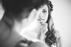 Hochzeits Make-Up für Cécile & Daniel